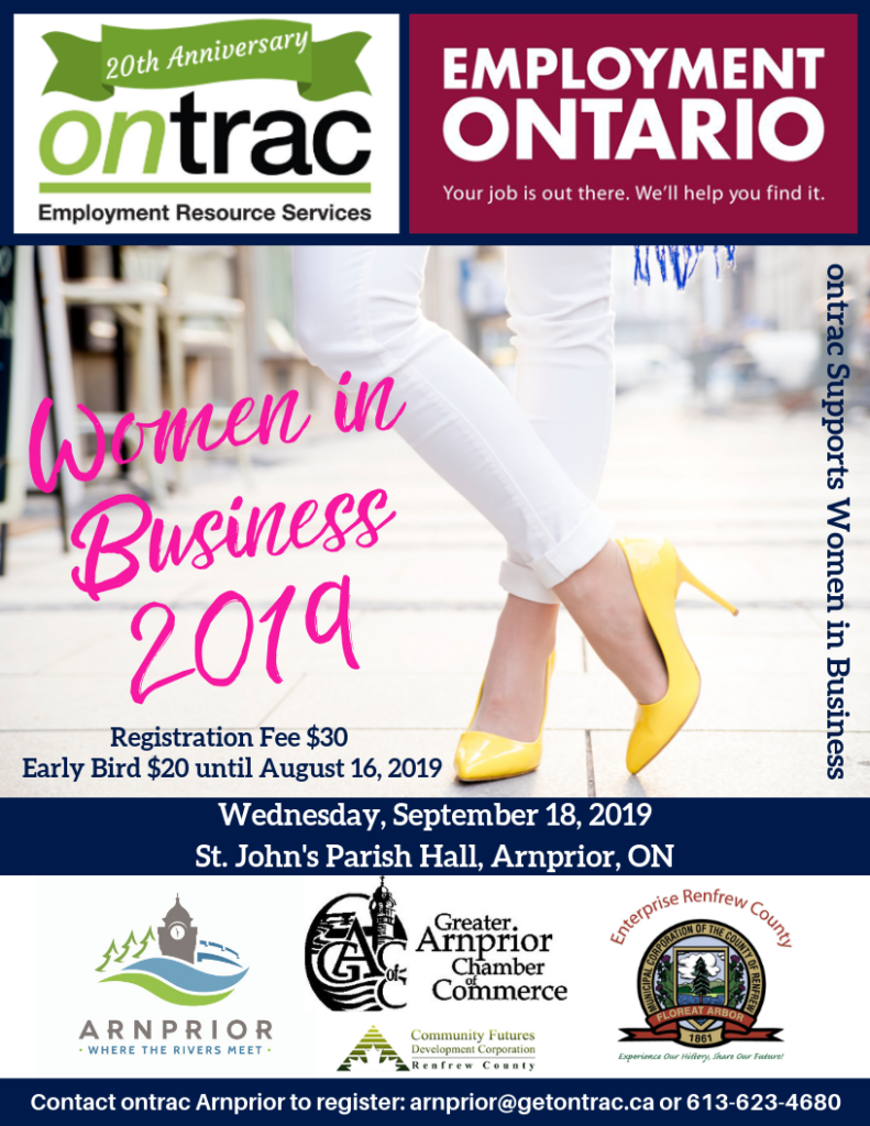 Women in Business 2019 - Official Sponsor Poster